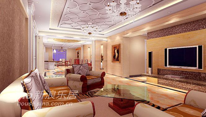 欧式 三居 客厅图片来自用户2772856065在离石市八一国际大厦11的分享