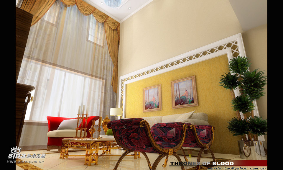"""欧式 别墅 客厅图片来自用户2557013183在阔达装饰——艺""""墅""""59的分享"""
