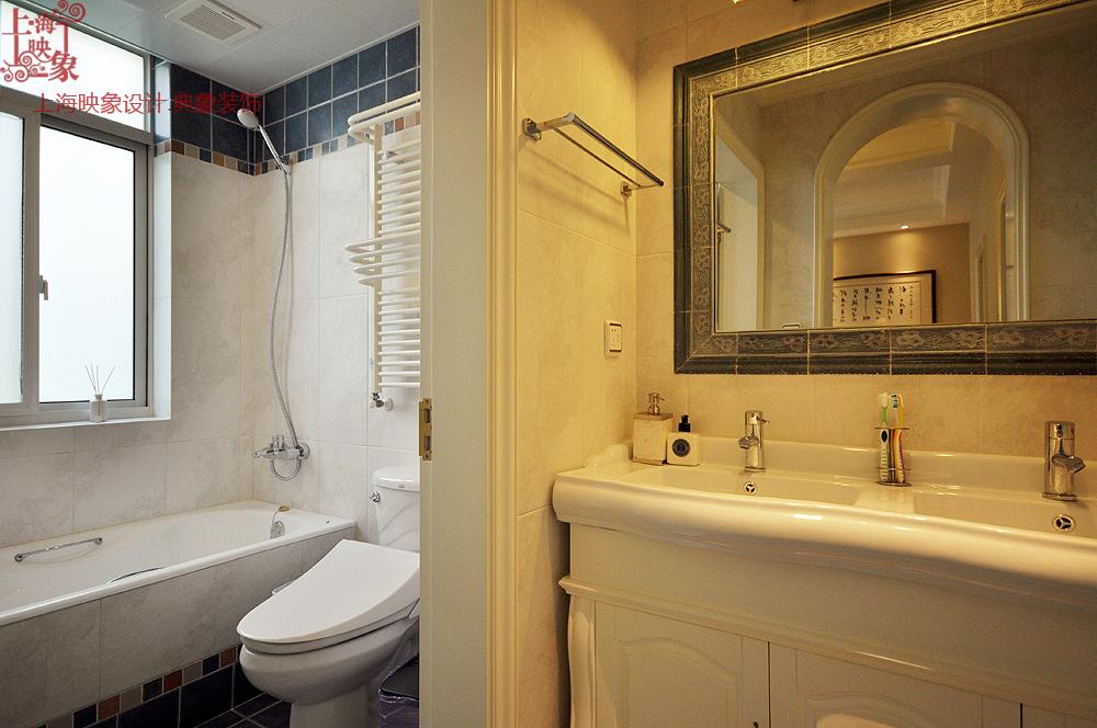 混搭 复式 卫生间图片来自上海映象设计-无锡站在【高清】半包21万打造明亮250平清晨36的分享