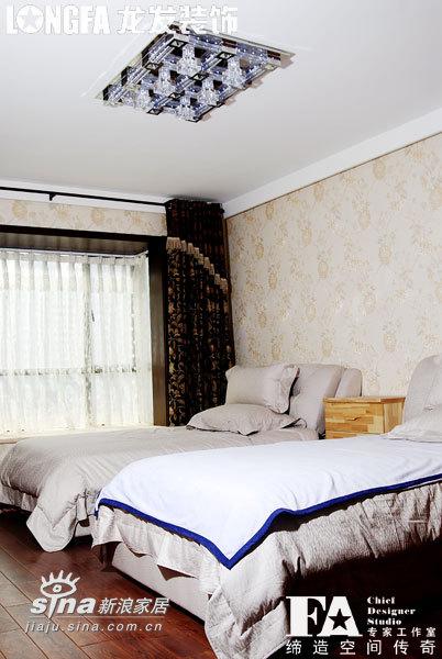 欧式 跃层 卧室图片来自用户2557013183在枫林绿洲样板间96的分享