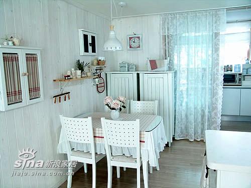 简约 二居 餐厅 80后 田园 小清新图片来自用户2739153147在梦幻小公主的家27的分享