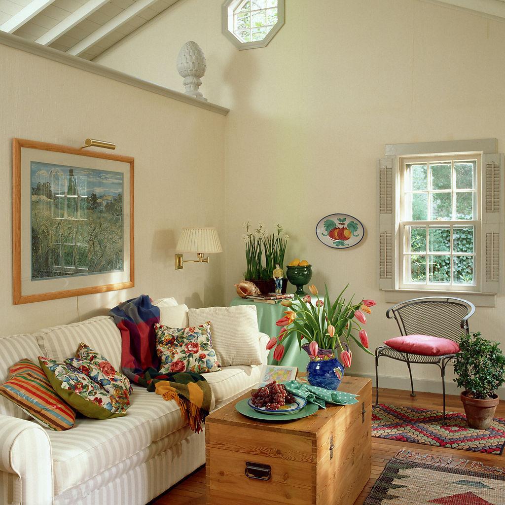 客厅 花园 小清新 田园 碎花 森系 美式 白富美图片来自用户2772840321在10个美式乡村风格客厅 像小资一样生活吧的分享