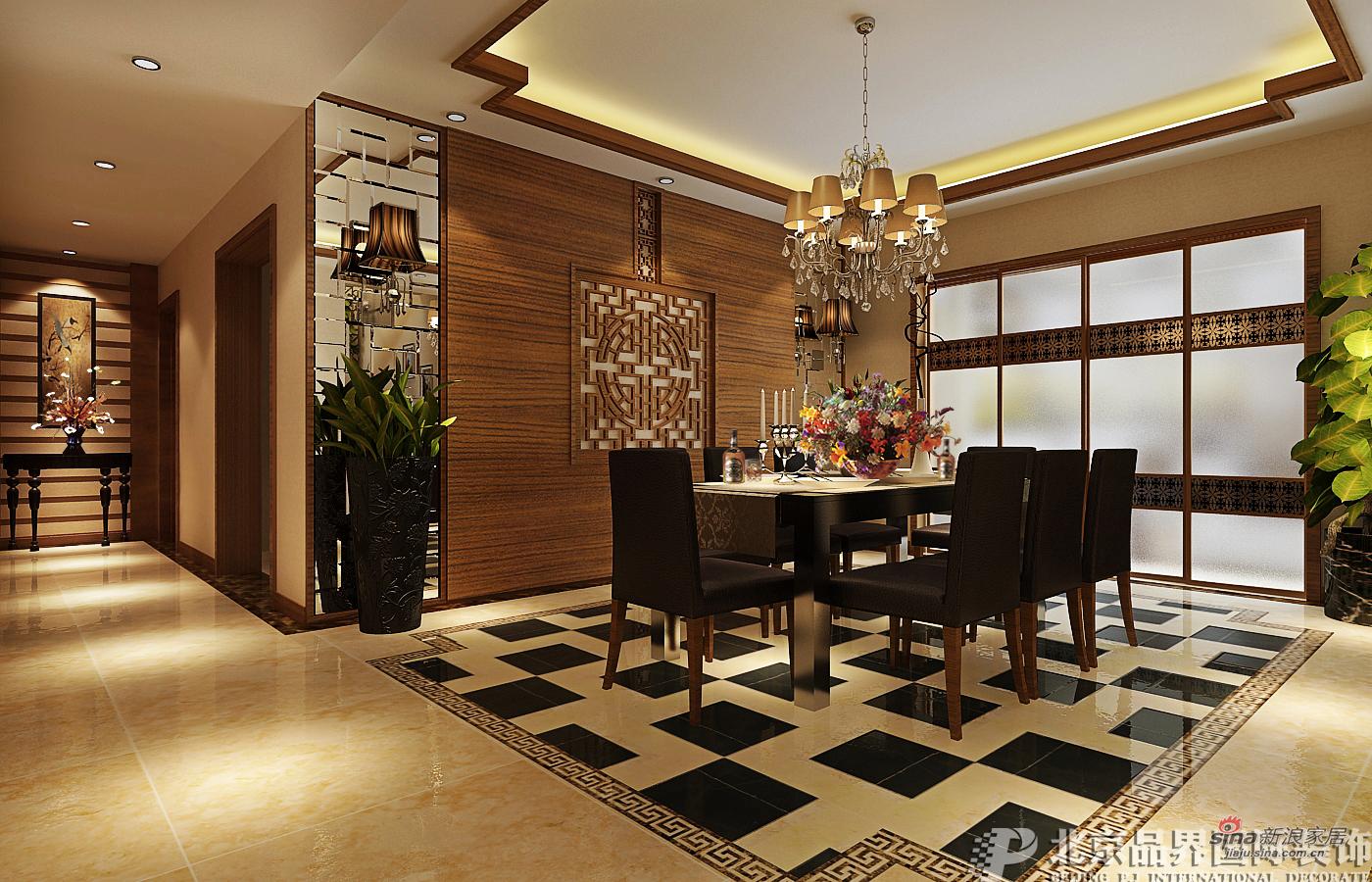 简约 复式 餐厅图片来自用户2556216825在【高清】阿卡迪亚 复式211平 简约风格94的分享