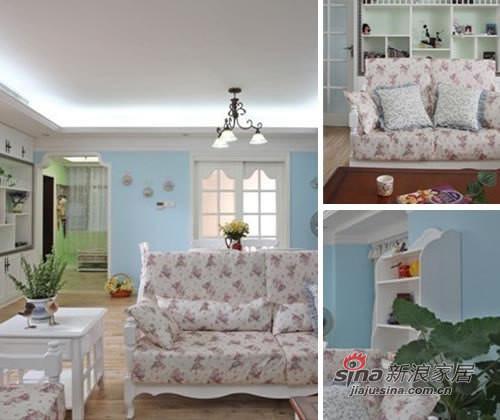 混搭 三居 客厅图片来自用户1907689327在精明主妇精打细算10万元装95㎡45的分享