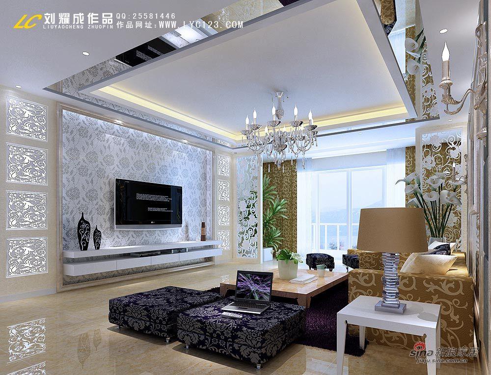 简约 二居 客厅图片来自用户2558728947在艺术气质宅女居15万21的分享
