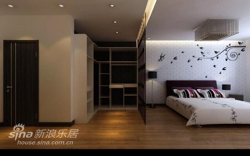 简约 复式 卧室图片来自用户2557979841在180平米的异国情味21的分享