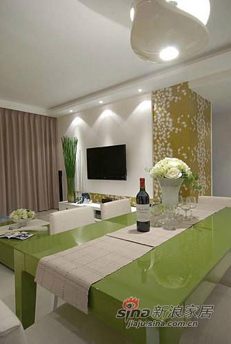 简约 三居 餐厅图片来自用户2737735823在小夫妻9万打造130平的现代简约家20的分享