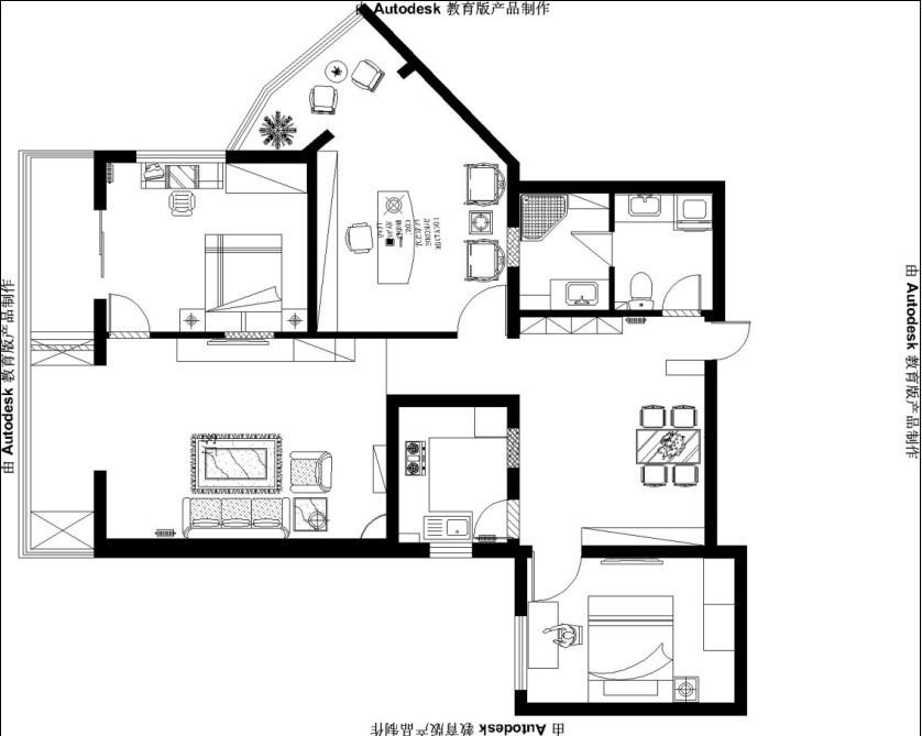 中式 三居 其他图片来自用户1907659705在100平米3居室中式混搭装修25的分享