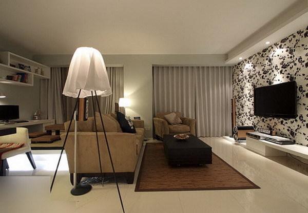 简约 二居 客厅图片来自用户2738829145在80后10万装时尚简约开间两居88的分享