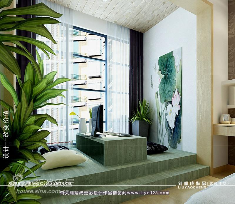简约 三居 书房图片来自用户2556216825在湘江世纪城样板间93的分享