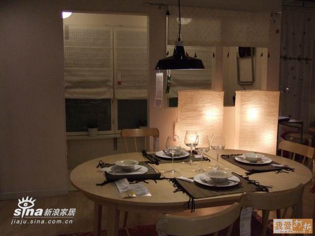 简约 一居 餐厅图片来自用户2738829145在北京宜家样板间系列五90的分享