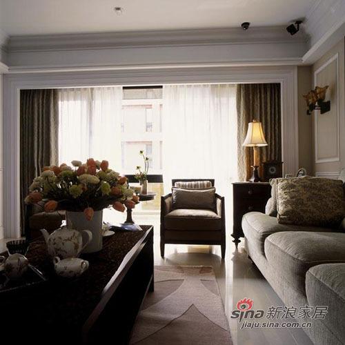 美式 三居 客厅图片来自用户1907686233在10万打造120平米美式爱家70的分享