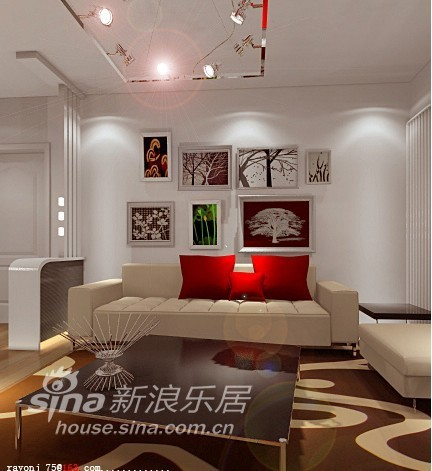 简约 二居 客厅图片来自用户2737786973在88平简约小家97的分享