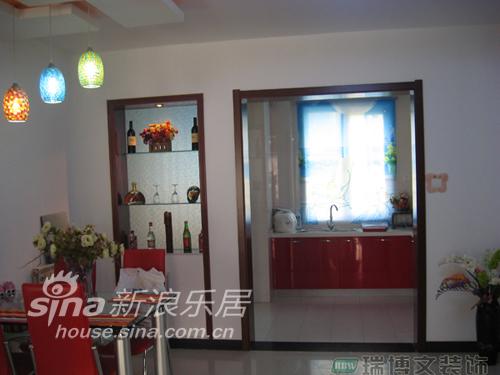 简约 二居 餐厅图片来自用户2559456651在雅致简约两居55的分享