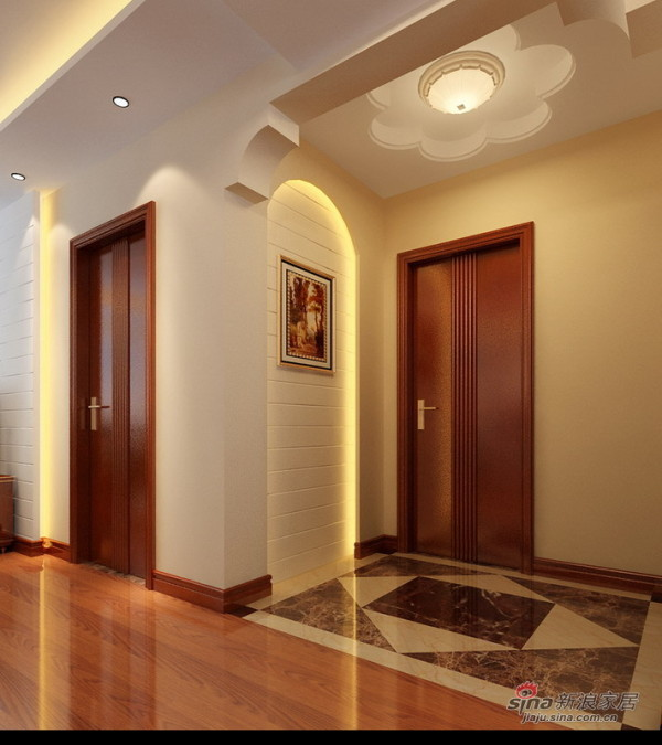 现代欧式门厅设计