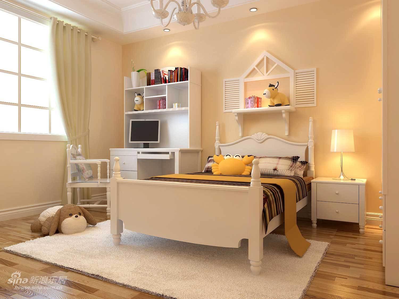 中式 三居 儿童房图片来自wulijuan_16在不要粉嫩拒绝奢华!大爱我的新古典婚房14的分享