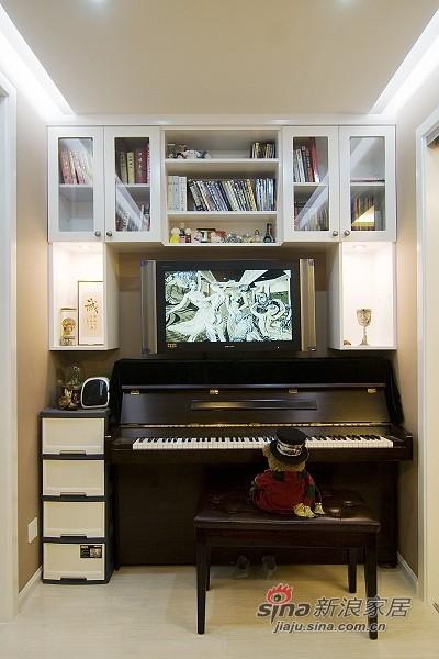 简约 一居 客厅图片来自用户2559456651在清新复式证大家园77的分享