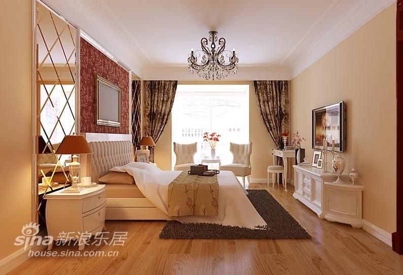 欧式 二居 卧室图片来自用户2772873991在一瓶小区 简约欧式91的分享