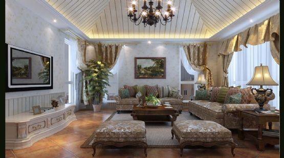 现代简欧--客厅