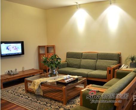 中式 三居 客厅图片来自用户1907696363在10万造就100平中式田园混搭3口之家36的分享