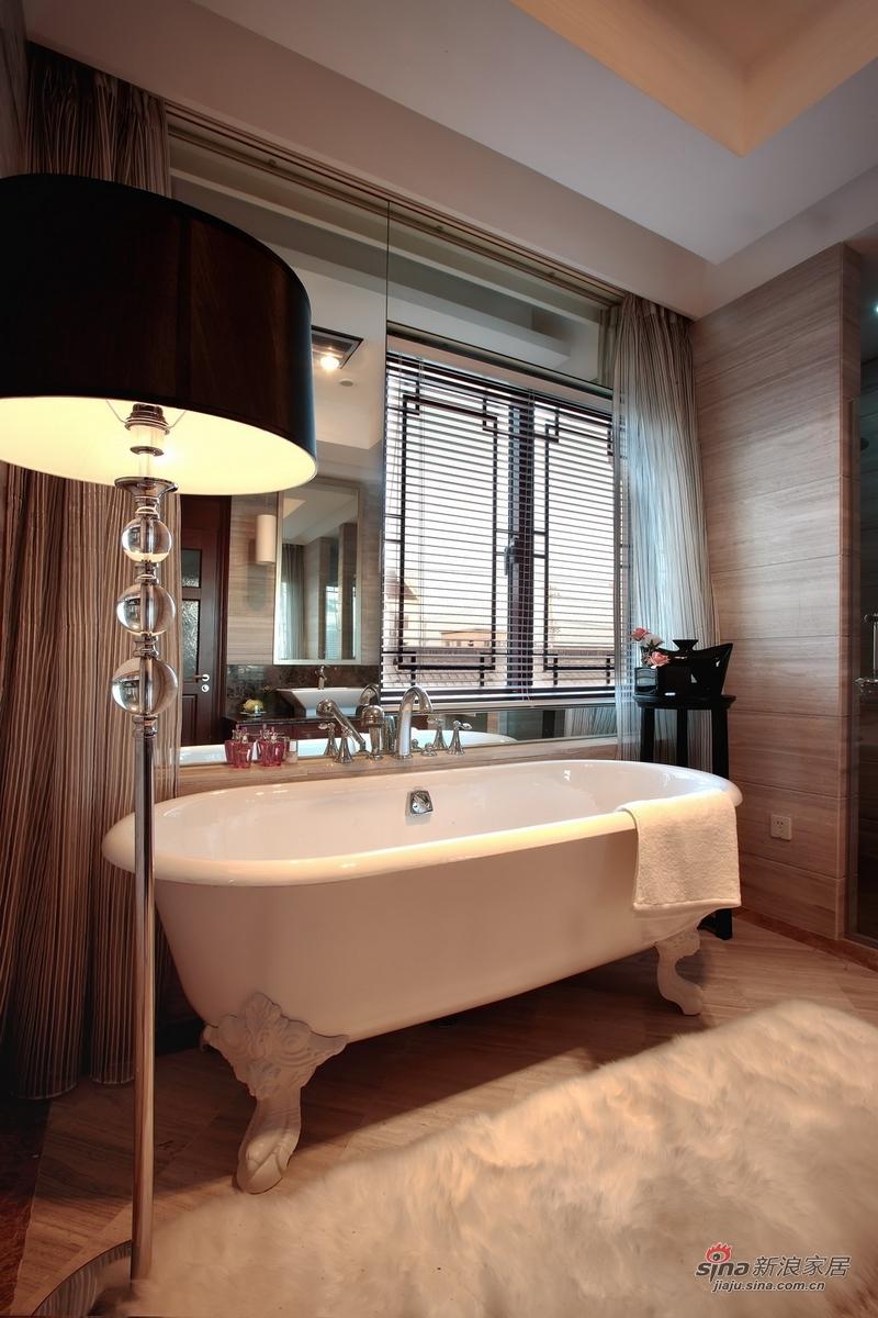 中式 别墅 卫生间图片来自用户1907696363在【高清】359㎡精致中式别墅样板间86的分享