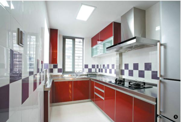 厨房百安居装修效果图