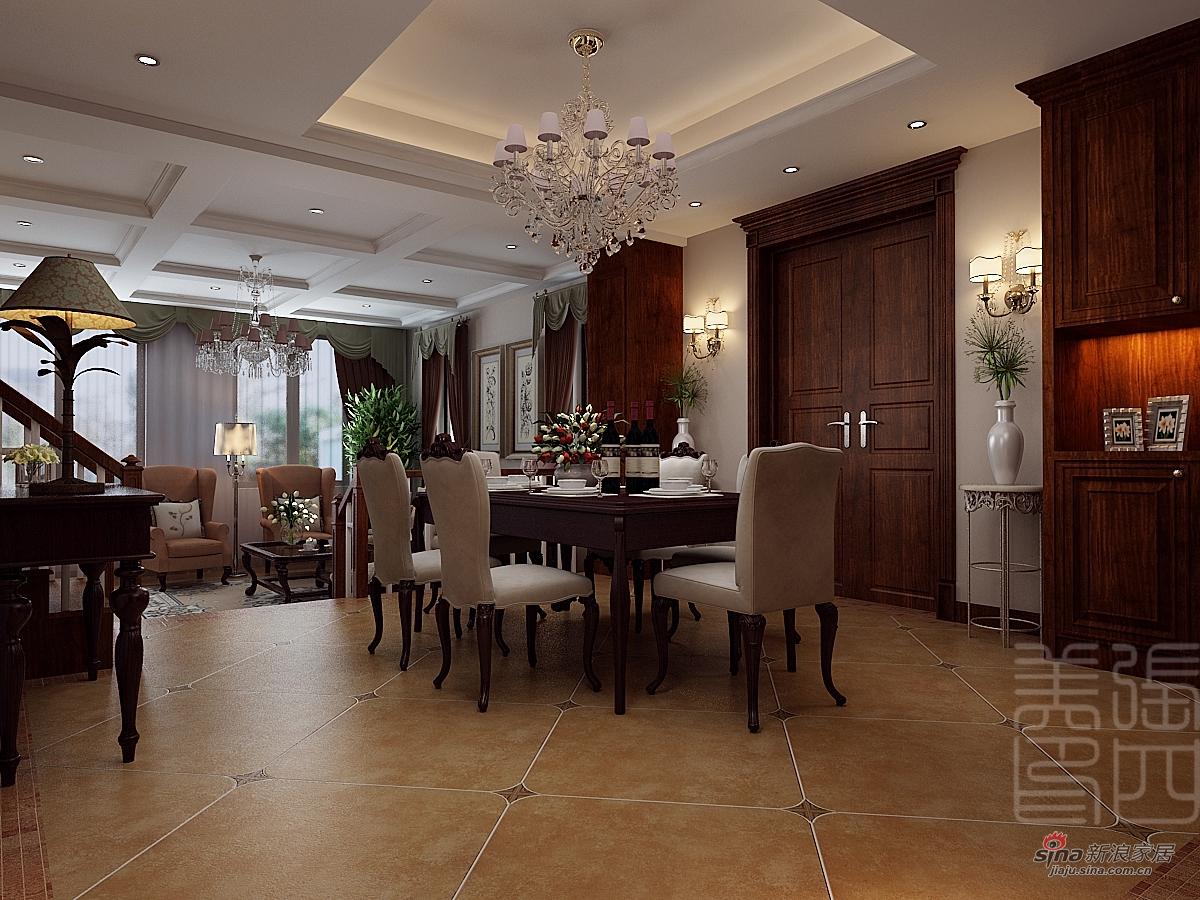 混搭 别墅 餐厅图片来自用户1907691673在打造精美别墅大空间50的分享