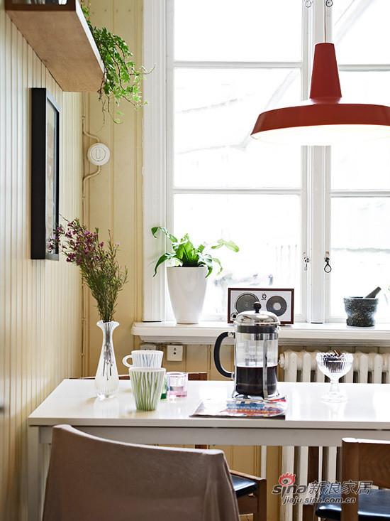 北欧 二居 餐厅图片来自用户1903515612在67平一家三口温馨北欧小家21的分享