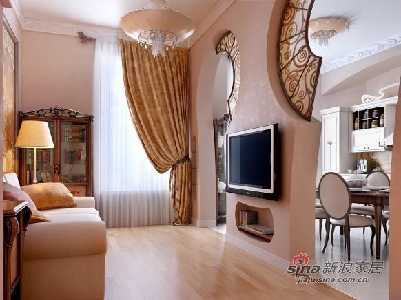 欧式 三居 客厅图片来自用户2746948411在女性浪漫欧式情怀别致公寓86的分享