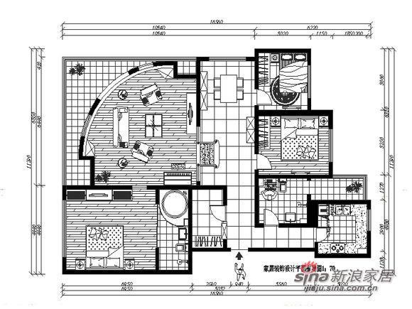 欧式 三居 客厅图片来自用户2746948411在8.5万元秀140平稳重的爱家85的分享