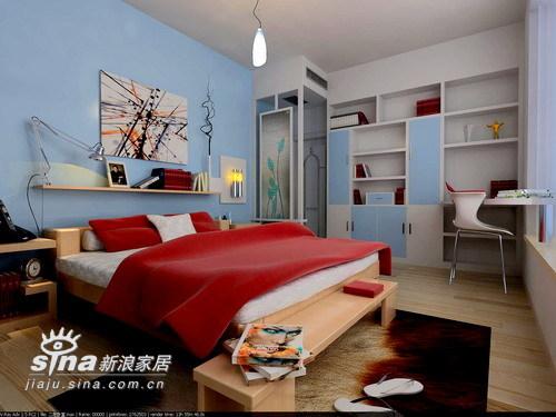 简约 四居 卧室图片来自用户2559456651在维一柳岸42的分享