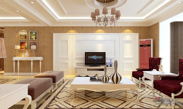 现代欧式大居室