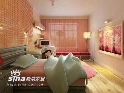 简约 二居 卧室图片来自用户2745807237在高科技媲美实景 两室一厅3D设计40的分享