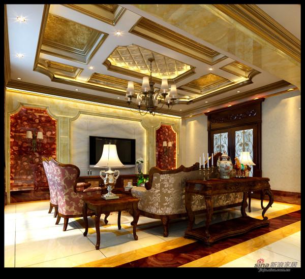 二居室也有能有欧式奢华家装风格