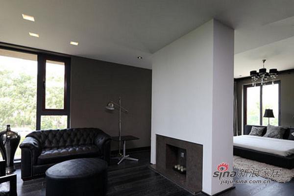 北欧 其他 客厅图片来自用户1903515612在150平现代时尚黑白家居设计44的分享