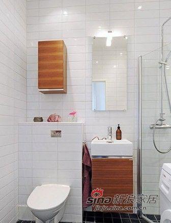北欧 二居 卫生间图片来自用户1903515612在夫妻96平纳维亚风格三居室51的分享