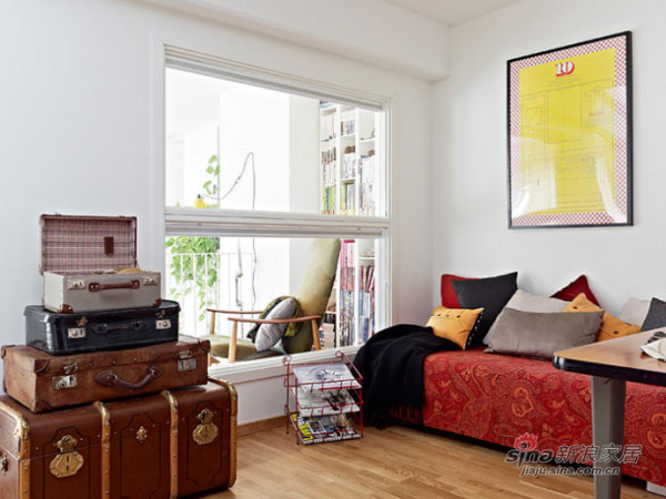欧式 别墅 客厅图片来自用户2745758987在混血女北欧风情别墅74的分享