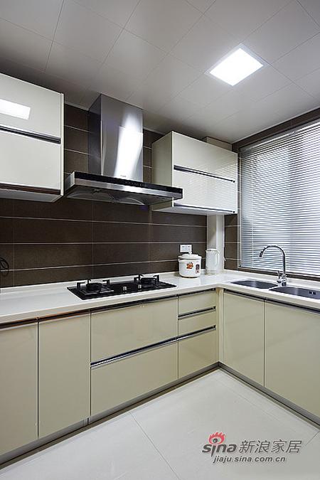 现代 二居 厨房图片来自佰辰生活装饰在15万营造86平时尚简约婚房78的分享