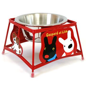 立体式凌空宠物餐具架