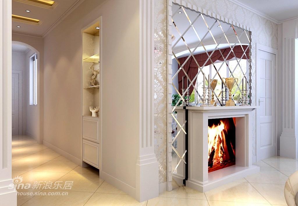 欧式 复式 客厅图片来自用户2772873991在壁炉胜火的欢快圣诞72的分享