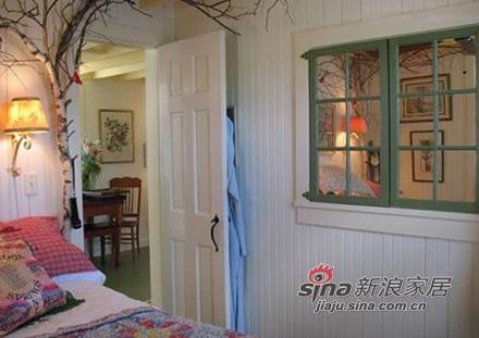 美式 二居 卧室图片来自用户1907686233在80后新婚4.6万81平朴素小清新23的分享