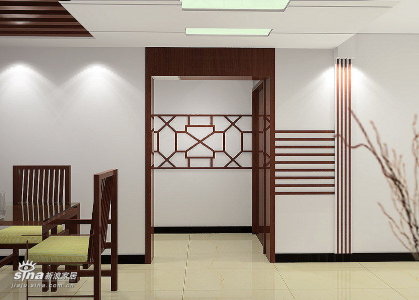 中式 复式 餐厅图片来自用户2737751153在天通苑(180平复式)23的分享