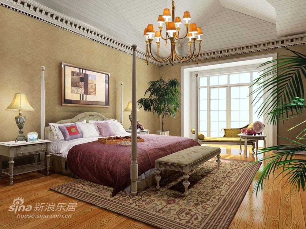 简约 一居 卧室图片来自用户2738813661在cbd高尔夫别墅96的分享