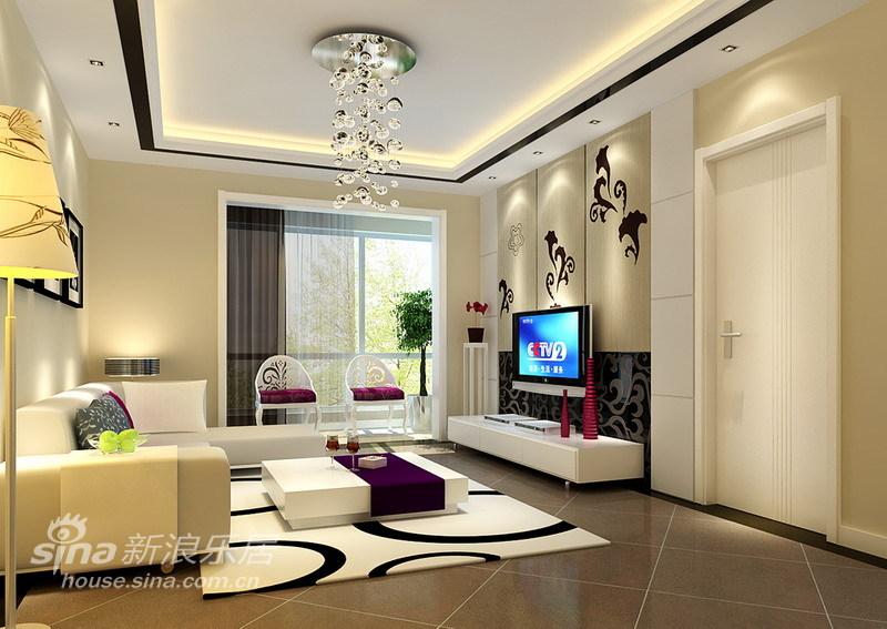 简约 二居 客厅图片来自用户2737735823在现代简约-96平米50的分享