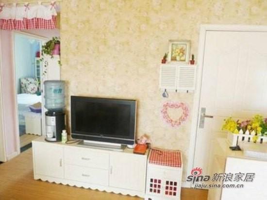 电视柜也是田园风格的