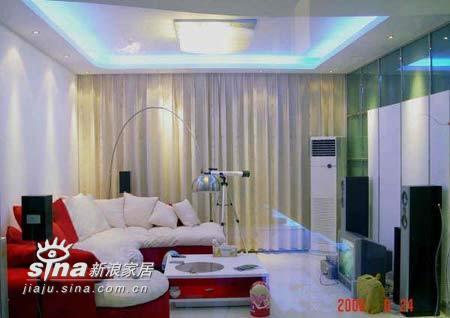简约 二居 客厅图片来自用户2559456651在4.8万装100平米心魂俱醉满意家53的分享
