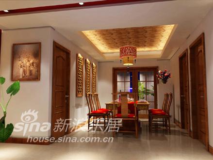 中式 四居 餐厅图片来自用户2757926655在沉醉东方92的分享