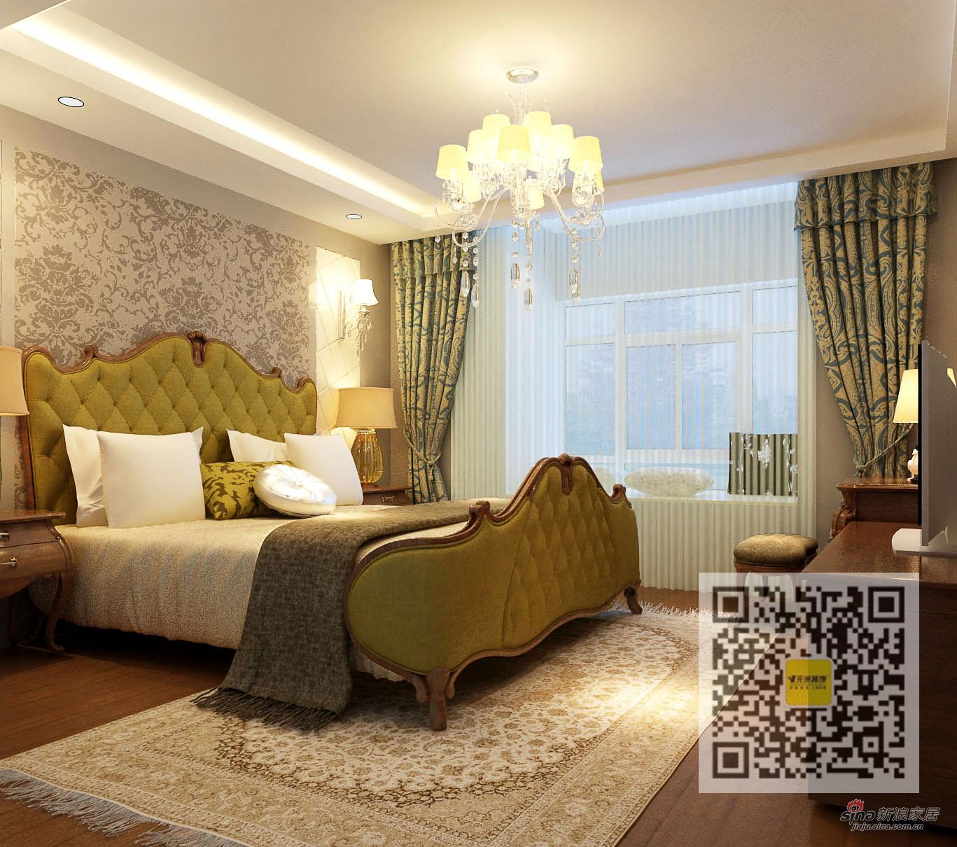 简约 四居 卧室图片来自用户2739081033在领袖新硅谷简约· 奢华四居室51的分享