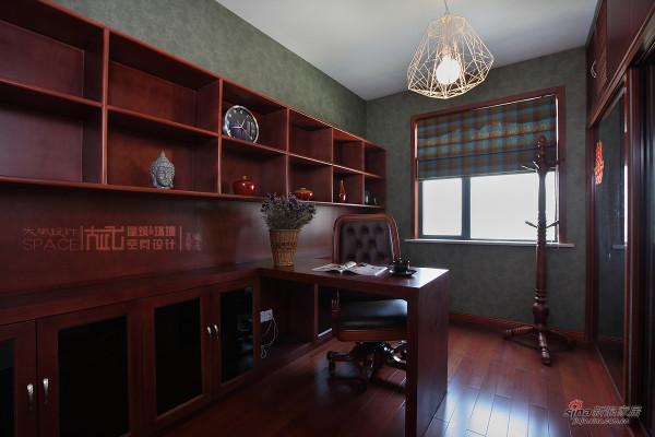 书房,沉稳的颜色
