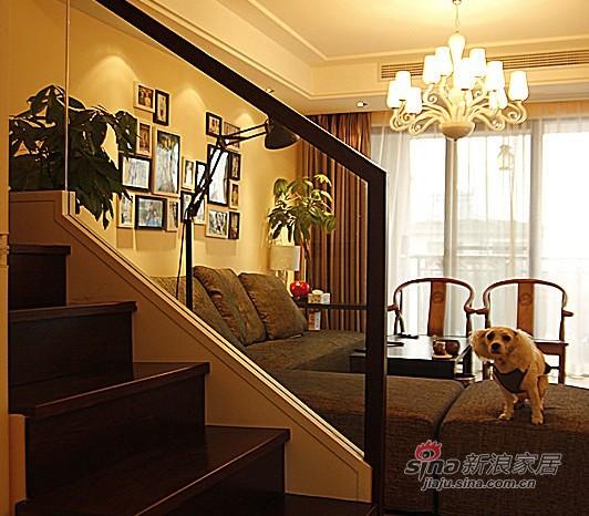 简约 跃层 餐厅图片来自用户2739378857在6.6万打造170平古色古香复式97的分享